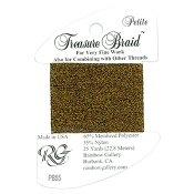 Rainbow Gallery Petite Treasure Braid PB55 Brass THUMBNAIL