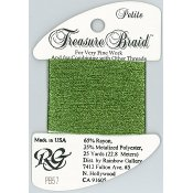 Rainbow Gallery Petite Treasure Braid PB57 Avocado THUMBNAIL