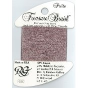 Rainbow Gallery Petite Treasure Braid PB60 Dark Powder Pink THUMBNAIL