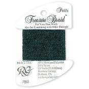 Rainbow Gallery Petite Treasure Braid PB63 Deep Midnight Blue THUMBNAIL