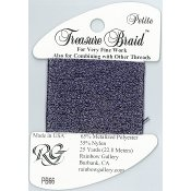 Rainbow Gallery Petite Treasure Braid PB66 Amethyst THUMBNAIL