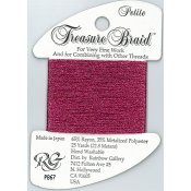 Rainbow Gallery Petite Treasure Braid PB67 Raspberry THUMBNAIL