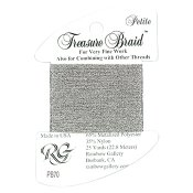 Rainbow Gallery Petite Treasure Braid PB70 Silver Gray THUMBNAIL