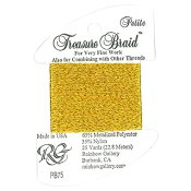 Rainbow Gallery Petite Treasure Braid PB75 Awesome Gold THUMBNAIL