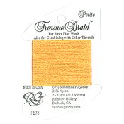Rainbow Gallery Petite Treasure Braid PB76 Orange THUMBNAIL