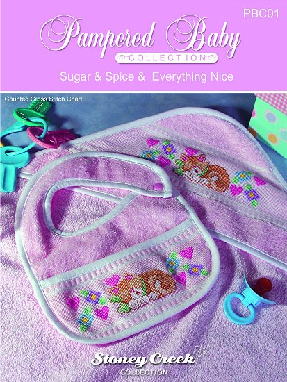 Pampered Baby Collection - Sugar & Spice Pattern_THUMBNAIL