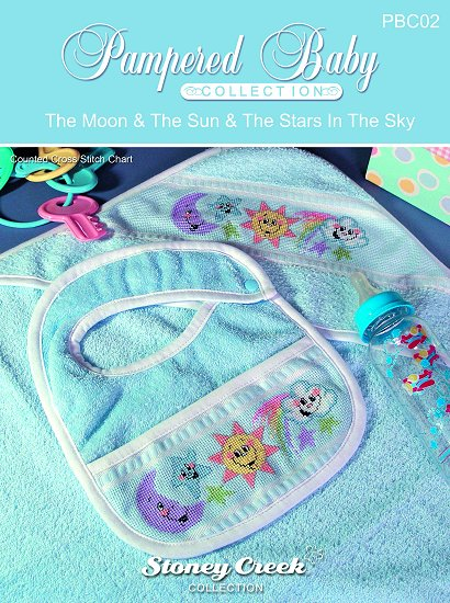 Pampered Baby Collection - Moon, Sun & Stars Pattern MAIN