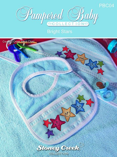 Pampered Baby Collection - Bright Stars Pattern_THUMBNAIL