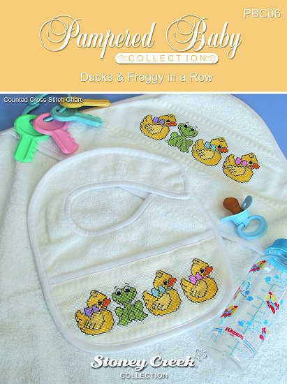 Pampered Baby Collection - Ducks & Froggy Pattern