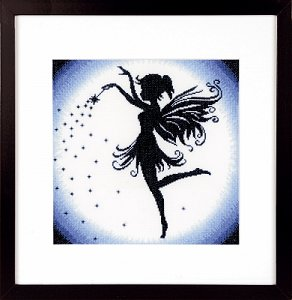 Lanarte Cross Stitch Kit - Enchanting Fairy MAIN