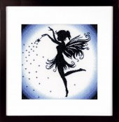 Lanarte Cross Stitch Kit - Enchanting Fairy THUMBNAIL