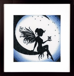 Lanarte Cross Stitch Kit - Fairy On The Moon MAIN