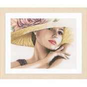 Lanarte Kit - Lady With Hat THUMBNAIL