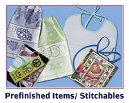 Prefinished and Stitchable Items