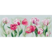 Riolis Cross Stitch - Spring Tulips