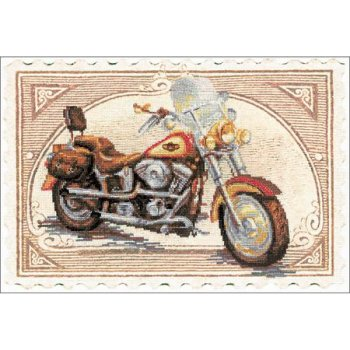 Riolis Cross Stitch - Harley Davidson_MAIN
