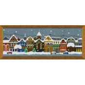 Riolis Cross Stitch - Christmas City