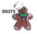 Button - Gingerbread Man (Chef) MAIN