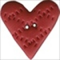 Button - Criss Cross Heart