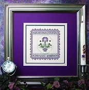 The Sweetheart Tree - Lavender Carnation Sampler_THUMBNAIL