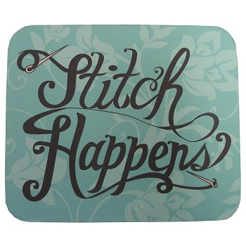 """Stitch Happens"" Mousepad MAIN"