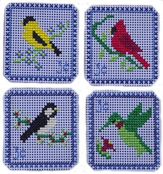 Handblessigns - Holiday Stamps - Backyard Birds Three Cent MAIN
