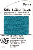 Silk Lame' Braid Petite - SP38 Caribbean THUMBNAIL