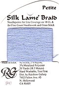 Silk Lame' Braid Petite - SP47 Lavender Blue THUMBNAIL