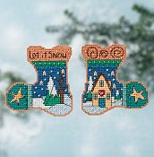 Sticks by Mill Hill - Let It Snow Kit THUMBNAIL