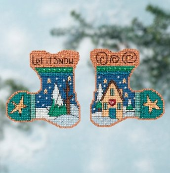 Sticks by Mill Hill - Let It Snow Kit MAIN
