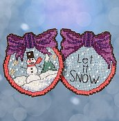 Mill Hill Sticks Kit - Let It Snow Man THUMBNAIL