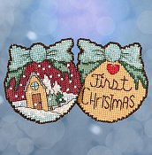 Mill Hill Sticks Kit - First Christmas THUMBNAIL