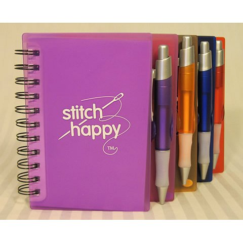 Stitch Happy Idea Notebook - Orange THUMBNAIL