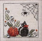 The Sweetheart Tree - Teenie Tweenie 168 Itty Bitty Kitty Halloween THUMBNAIL