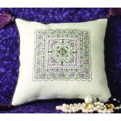 The Sweetheart Tree - Sparkling Violets Pillow THUMBNAIL