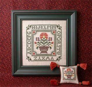 The Sweetheart Tree - Country Flowers Sampler Kit MAIN
