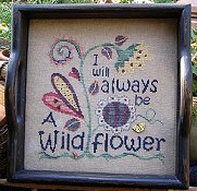 SamSarah Design Studio - I Will Always Be A Wildflower