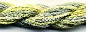 Dinky Dyes Silk Thread - 016 Lemon Mint