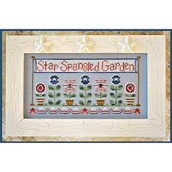 Country Cottage Needleworks - Star Spangled Garden MAIN