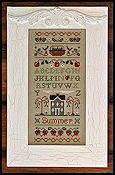 Little House Needleworks - Summer Band Sampler
