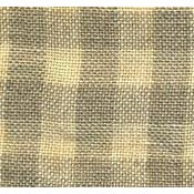 Weeks Dye Works 28ct Gingham Linen 1101 Light Khaki/Natural