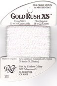 Rainbow Gallery Gold Rush XS X10 White Pearl