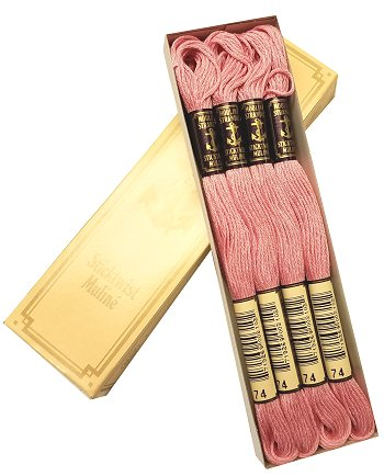 Anchor Floss #74 Antique Rose Lt - 12 Skeins