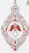 Alessandra Adelaide Needleworks - Angel Ornament THUMBNAIL