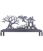 "Table Stand Header 12"" Haunted House Silver Vein"
