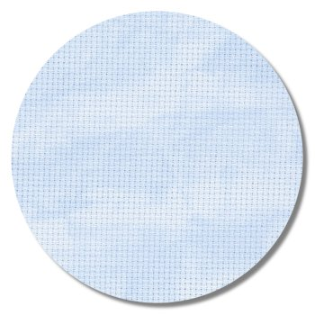 "Aida 14ct Vintage Blue Whisper - 18"" x 21"" (Fat Quarter)_MAIN"