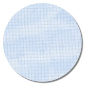"Aida 14ct Vintage Blue Whisper - 18"" x 21"" (Fat Quarter)"