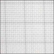 Aida 14ct Easy Count Grid Grey/White THUMBNAIL