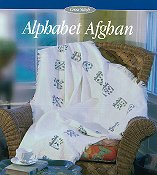 Alphabet Afghan 18ct - Temporarily Out of Stock THUMBNAIL