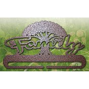 "Fabric Holder - 8"" Family Tree (Copper)"